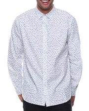 Shirts - L/S Floral Woven