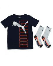 Boys - S/S Tee & Socks (8-20)