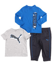 Infant & Newborn - 3 Piece Tees & Jogger Set (Infant)