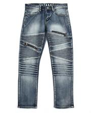 Jeans - Moto Zip Jeans (8-20)