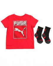 Puma - S/S Tee & Socks (2T-4T)