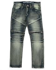 Sizes 8-20 - Big Kids - Moto Zip Jeans (8-20)