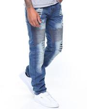 Summer-Mens - Biker Moto Jeans