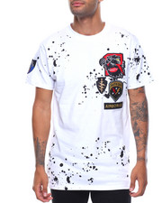 Shirts - S/S Bad Kids Patched Splatter Tee