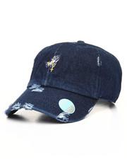 Men - Vintage Distressed Hands Rosary Dad Hat