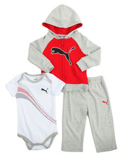 Infant & Newborn - 3 Piece Hoody, Onesie & Pant Set (Infant)