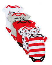 Infant & Newborn - 5 Pack Bodysuit Set (Infant)