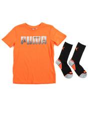 Puma - S/S Tee & Socks (8-20)