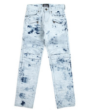Boys - Zip Trim Moto Jeans (8-20)