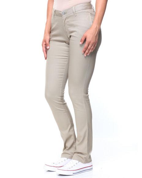 Dickies - 4 Pocket Mid Rise Skinny Jean