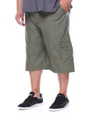 Shorts - Poplin Cargo Shorts (B&T)