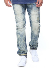 AKOO - Pocket Detailed Crown Jeans