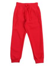 Boys - Basic Solid Fleece Joggers (8-20)-2122436