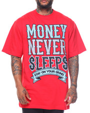Buyers Picks - Money Never Sleeps S/S Tee (B&T)-2122108