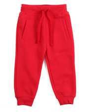 Boys - Basic Solid Fleece Joggers (2T-4T)