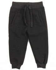 Boys - Basic Solid Fleece Joggers (2T-4T)-2122167