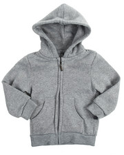 Boys - Heavyweight Fleece Zip L/S Hoody (4-7)