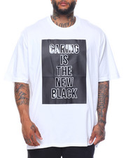 Men - Caring Is The New Black S/S Tee (B&T)
