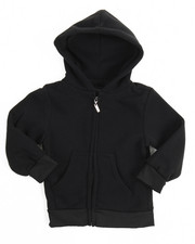 Hoodies - Heavyweight Fleece Zip L/S Hoody (4-7)
