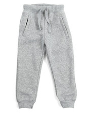 Arcade Styles - Basic Solid Fleece Joggers (4-7)