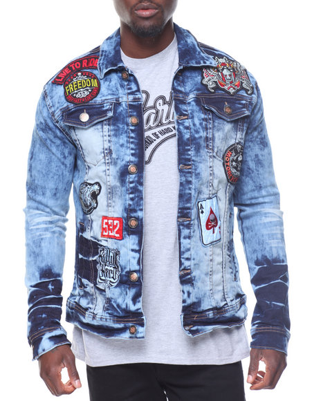 Buyers Picks - Patchwork Denim Jacket