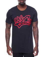 Men - S/S Ny City Tee Raised Letters