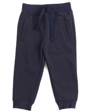 Sizes 2T-4T - Toddler - Basic Solid Fleece Joggers (2T-4T)