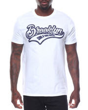 Shirts - S/S Brooklyn Tee Raised Letters