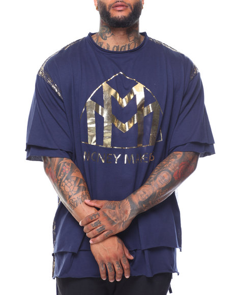 Buyers Picks - Money Makers Double Layer Foil S/S Tee (B&T)