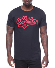 Shirts - S/S Harlem Tee Raised Letters