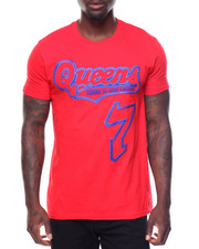 Shirts - S/S Queens Tee Raised Letters