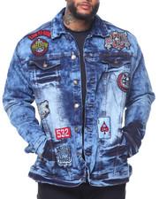 Denim Jackets - Patch Denim Jacket (B&T)