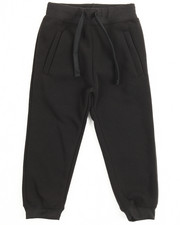 Boys - Basic Solid Fleece Joggers (4-7)
