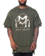 Shirts - Money Makers Double Layer Foil S/S Tee (B&T)