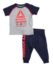 Boys - Icon Tee/ Jogger Set (Infant)