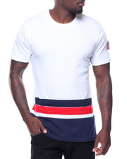 Shirts - S/S Crew Neck Tee Side Zips