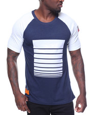 Buyers Picks - S/S Printed Raglan Tee Side Zips