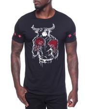 Men - S/S Studded Bulls Tee