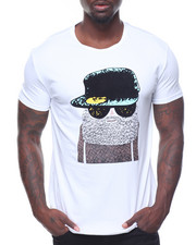 Buyers Picks - S/S Flocked Tee With Hitman