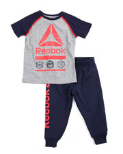 Boys - Icon Tee/ Jogger Set (2T-4T)
