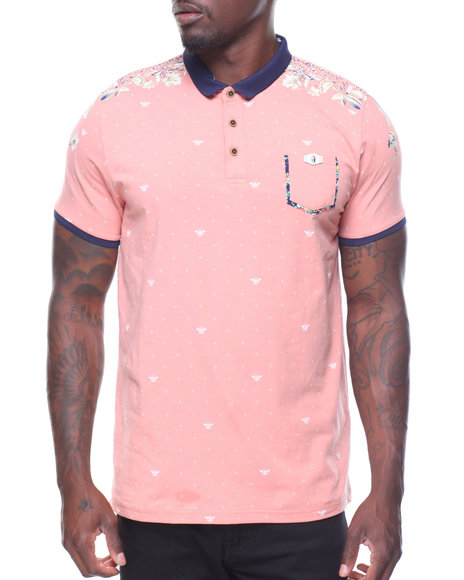 Buyers Picks - Allover S/S Print Polo