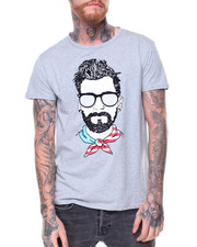 Shirts - S/S Americana Scarf Tee