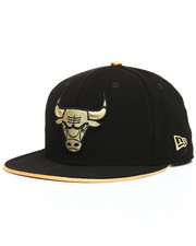 Men - 9Fifty Faux Nubuck & Metallic Chicago Bulls Snapbacks