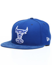 Men - 9Fifty Bright Royal Chicago Bulls Faux leather Snapback