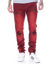 Men - Rips Moto Jeans