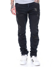 Jeans & Pants - Basic Knee Split Pant
