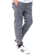 Jeans & Pants - Marled Fleece Joggers
