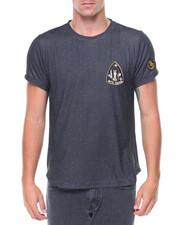 Shirts - S/S Jaspe Side Zipper Tee