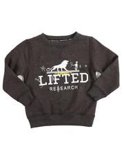 Sweatshirts & Sweaters - L/S Shotgun Crew Sweatshirt (4-7)