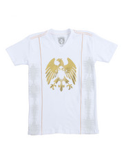 Tops - S/S V-neck Graphic Tee (8-20)